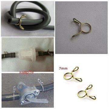 7-9mm brandstofleiding slang slang Spring Clip Clamp Moto