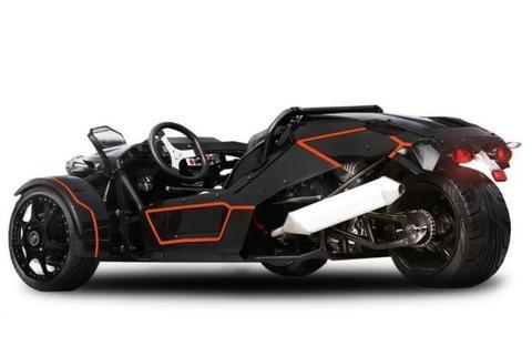 Trike met kenteken 250cc 4takt ZTR Roadster quad streetquad