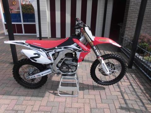 Honda CRF 250 crossmotor Nieuwstaat 2015