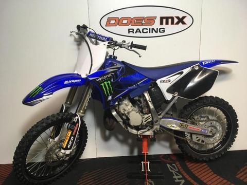 Yamaha 125 yz crossmotor**alu frame uitzonderlijke staat**