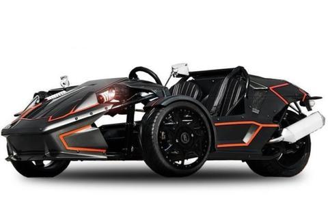 ZTR Roadster trike met kenteken quad streetquad 250cc 4takt