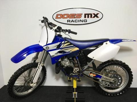 yamaha 125 yz crossmotor **does mx veel 125 cc op voorraad**