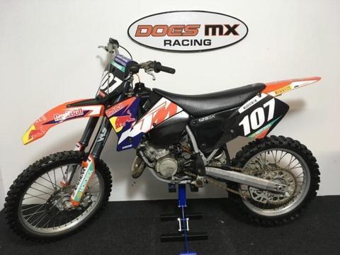 ktm 125 sx crossmotor **nette 125 cc 2-takt crosser**