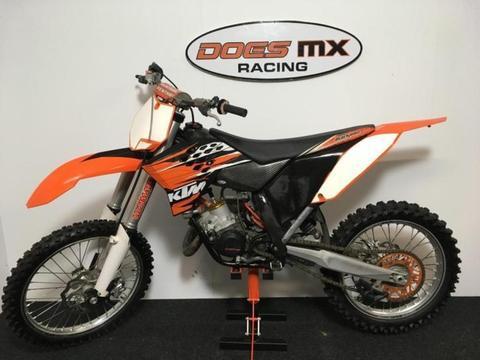 ktm 150 sx crossmotor ** 2-takt 150 cc crosser **