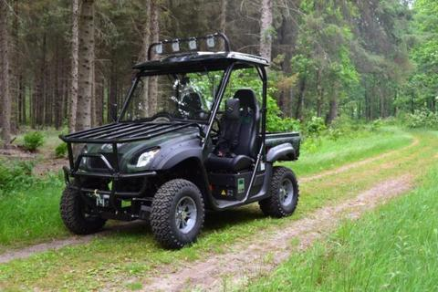 100% Elektrische transporter Leffert FM-50-80-90