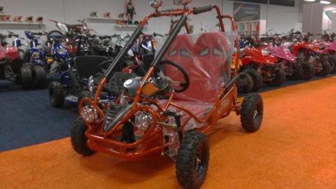 Buggy 50cc 4takt crossbuggy kinderquad benzine kinder quad