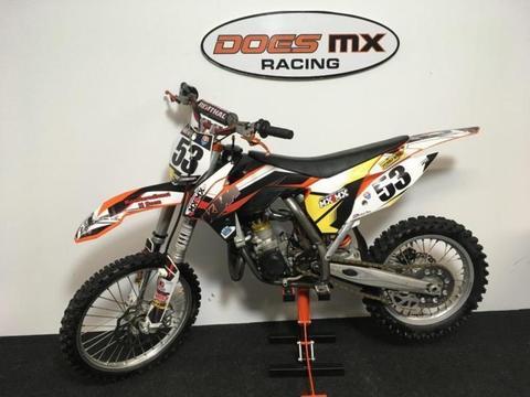 ktm 85 sx crossmotor*grote wielen 2013*
