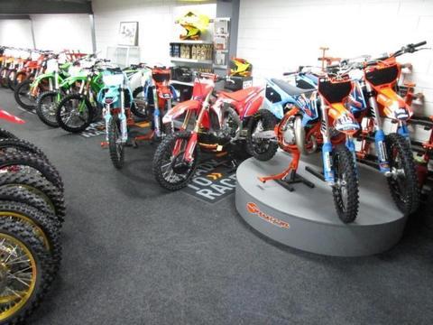 KTM Ruim 30 gebruikte KTM motoren op voorraad ! (bj 2017)