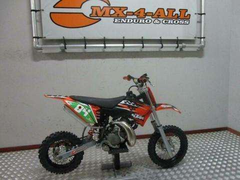 KTM 50 SX 2010 SBS Suspension (bj 2010)