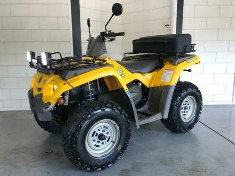 Can am Outlander 400 4x4 Quad met Kenteken